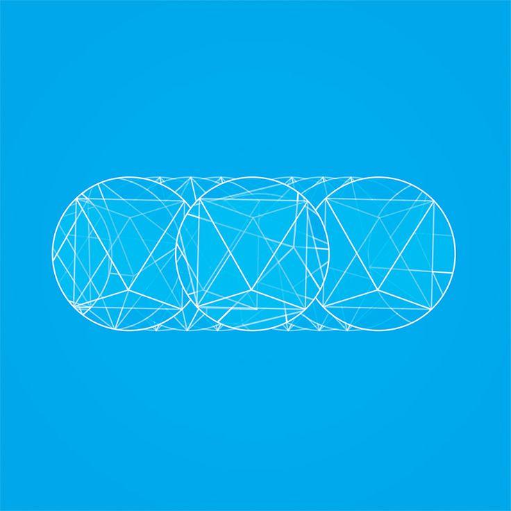 """""""terragua"""" by Amel Segré. Exciz6, la dimensión geométrica. #abstrac #art #conceptual"""