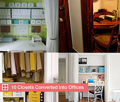10 Offices Converted From Closets