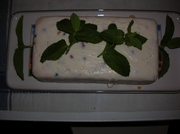 LEMON SEMIFREDDO (no, not Fredo Corleone's half-brother)