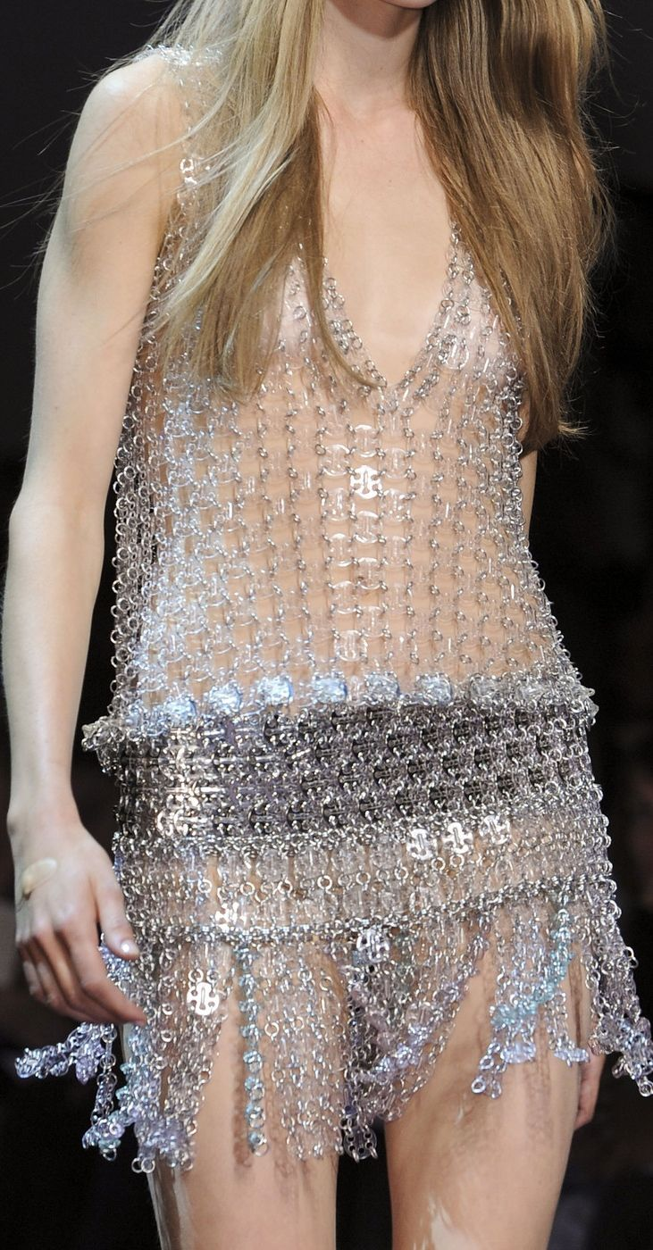 High fashion fabric houston - Runway Fashion Details Paco Rabanne S S 2013