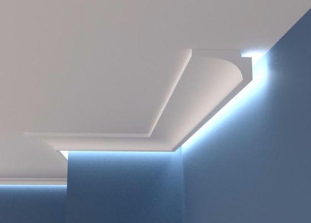 Samples Xps Coving Led Lighting Uplighter Wall Cornice Flat Side Lighting Ebay Ceiling Light Design Lighting Design Interior Interior Led Lights