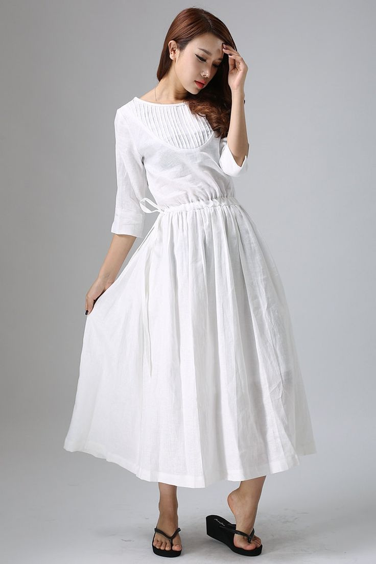 Wedding Casual White Dress 17 best ideas about white linen dresses on pinterest tunic and cloth