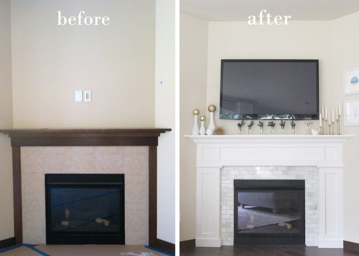 feeling lovesome fireplace makeover pretty white fireplace