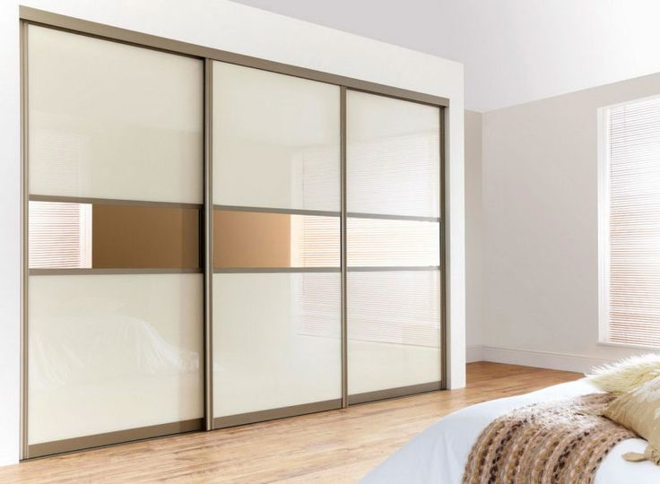 Oversized Sliding Closet Door For Bedroom With Two Tone   Decofurnish