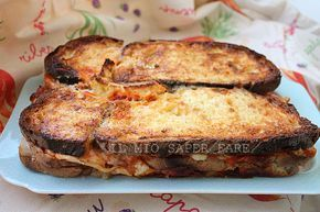 Come utilizzare il pane raffermo: Torta di Pane salata blog il mio saper fare