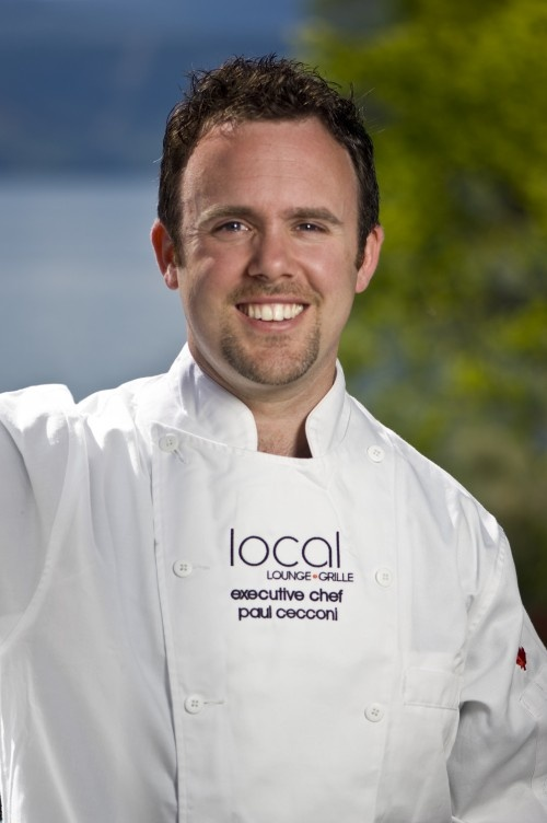 Chef Paul Cecconi at Local Lounge, Summerland