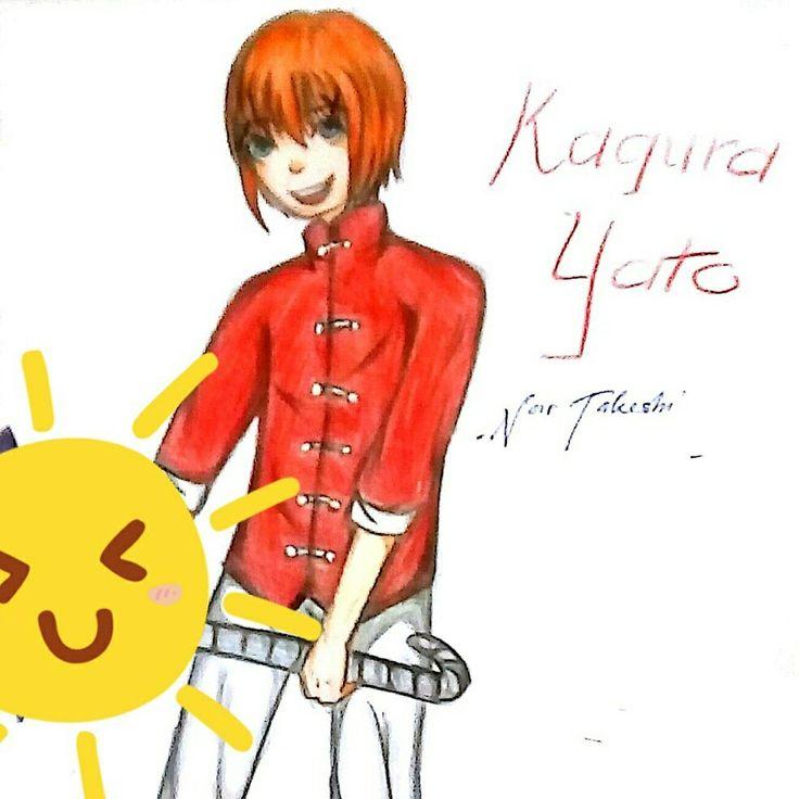 Kagura Yato male version by me ~ my Instagram : @takeshi.okm  my Facebook : Noir Takeshi