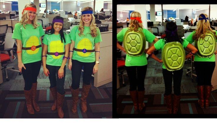 diy ninja turtles adult costumes | DIY Ninja Turtles Halloween costume | Season of the Witch