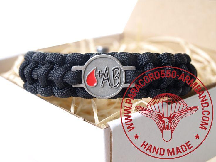 ARMBAND BLUTGRUPPE AB RH+ / BRACELET BLOOD TYPE AB RH+