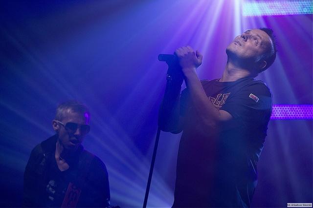 """Krzysztof """"Grabaż"""" Grabowski / Koncert zespołu Strachy na Lachy / Gorzów Wielkopolski by Arkadiusz Sikorski vel ArakuS, via Flickr"""