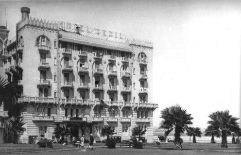 Hotel Cecil - Alexandria 1920's