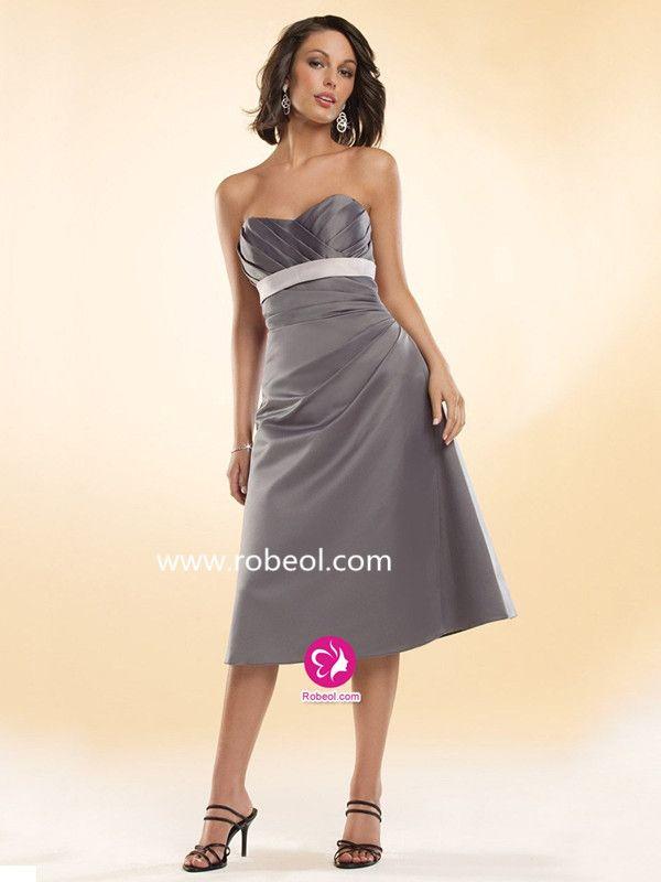Grey Dresses for Weddings