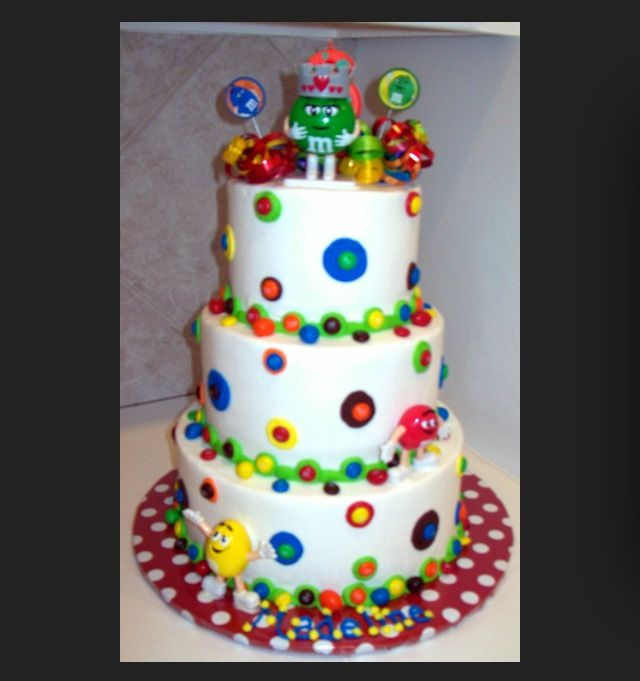 127 best MM birthday party images on Pinterest Birthday cakes