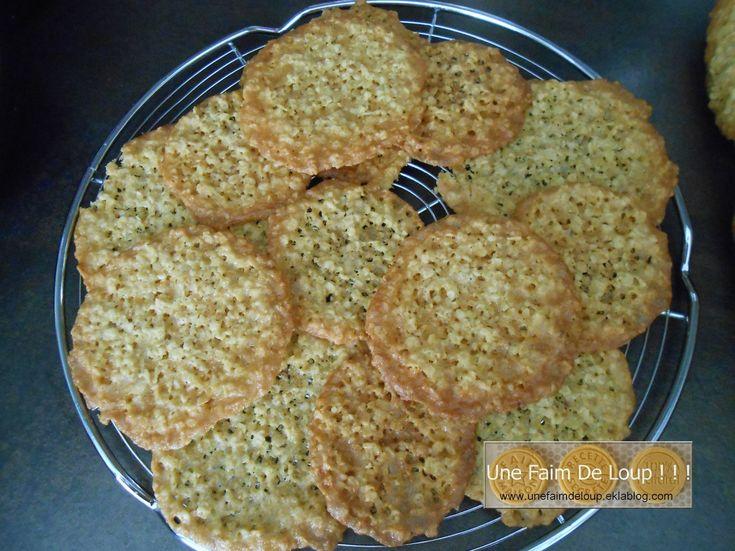 Biscuits dentelle à l'avoine