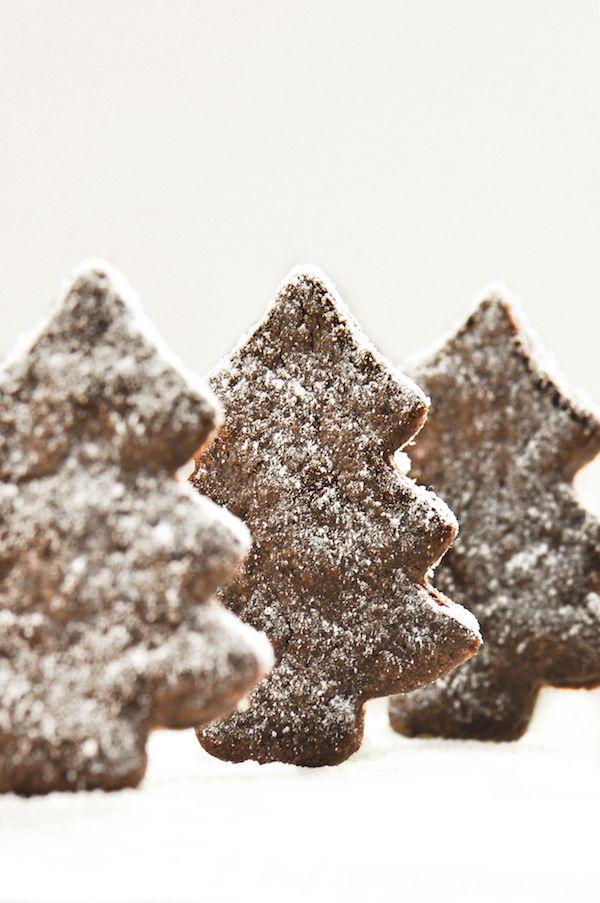 Biscotti al cioccolato in pasta sucrée di Sara Zancanella (Il frullino rosa)