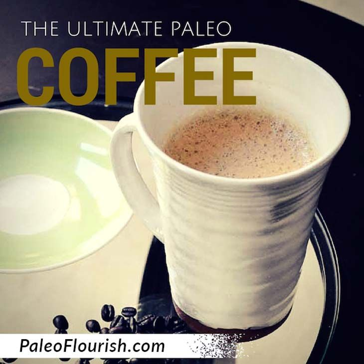 can you drink coffee on the paleo diet