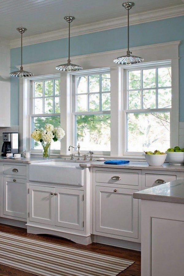 Kitchen window above sink