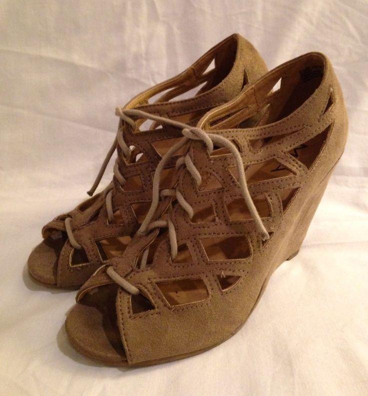 Victoria Spenser Brown Leather Sandals Heels Mia 6.5 Elegant Classic