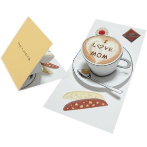 DIY Free Printable Pop-up Card (Teacup) for Mother's Day