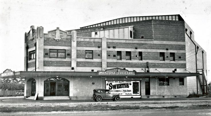 Mentone Theatre - Cnr Nepean Highway and Balombe Rd