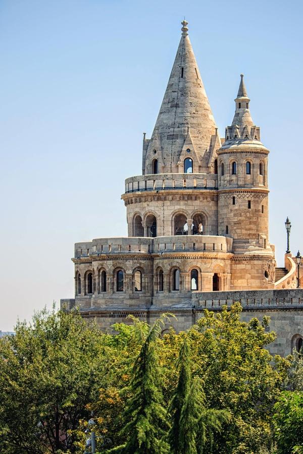 Fisherman's Bastion #Budapest #Hungary #travel #Europe #castle