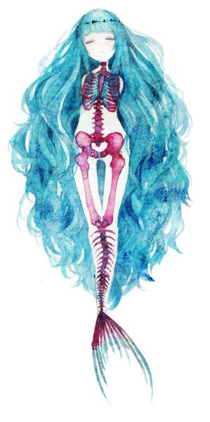 mermaid bones