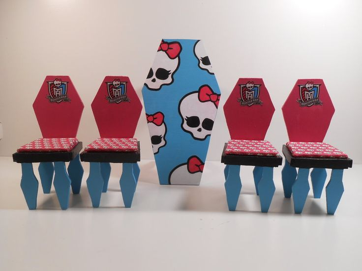 how to make monster high furniture