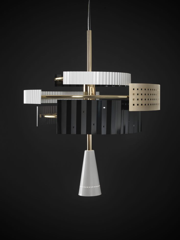 Wallie Chandelier, designed by Lorenza Bozzoli