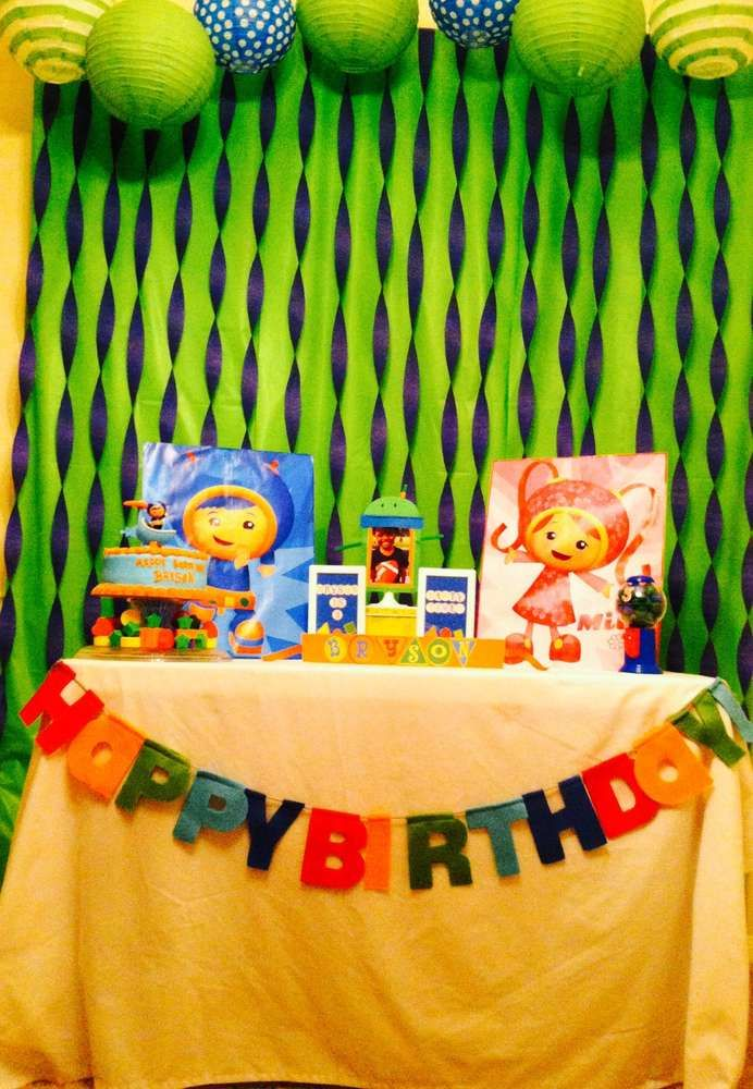Team Umizoomi Birthday Party Ideas | Photo 1 of 7 | Catch My Party