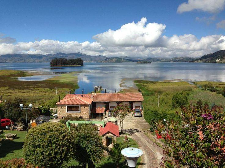 Llamado el Mar de Boyacá, Laguna de Tota - Boyacá, Colombia Por: Carlos Andres Gonzalez