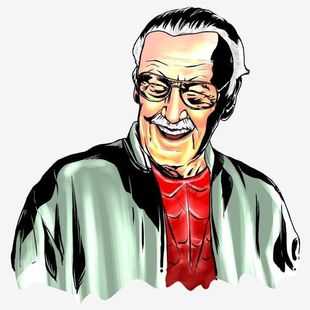Stan Lee Sketch Icono De Camara Estilos De Ilustracion Calaveras Dibujos