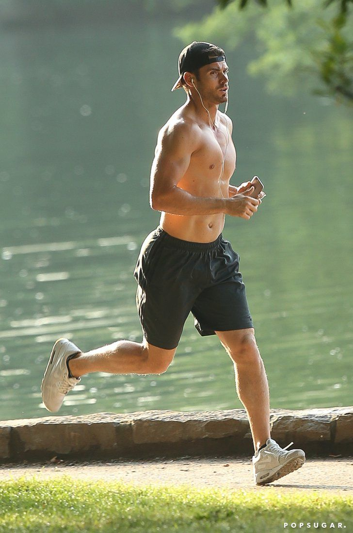 Pin for Later: Rumored New Bachelor Luke Pell Went on a Run and Made All Your Dreams Come True