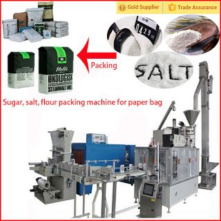 Automatic Packing Line For Industry Automation in the future: Automatic flour or sugar Paper Bag Packaging Machi...