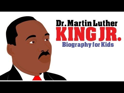 Black History Month: Martin Luther King Jr Mini Bio. A Cartoon on Martin Luther King Jr for Kids! - YouTube