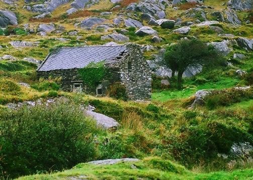 Irish cottage ring of kerry ireland photography irish for Landscape architect ireland