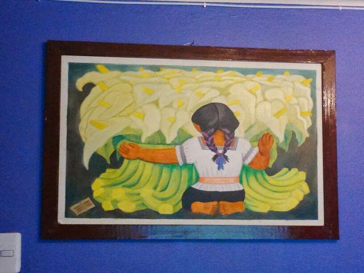 Pintura oleo mía