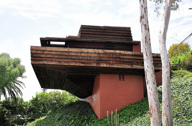 Sturges house frank lloyd wright brentwood california for Frank lloyd wright california