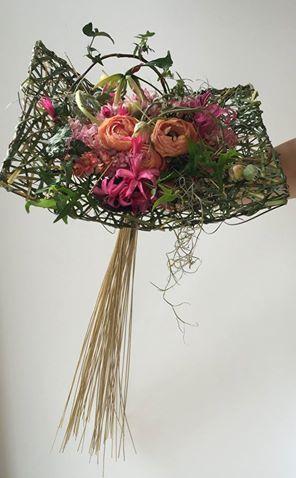 Gregor Lersch Floral Design for an unusual and individual wedding bouquet #weddingbouquets