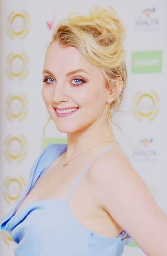 Evanna Lynch attends the National Film Awards at Porchester Hall, London on 29 March 2017