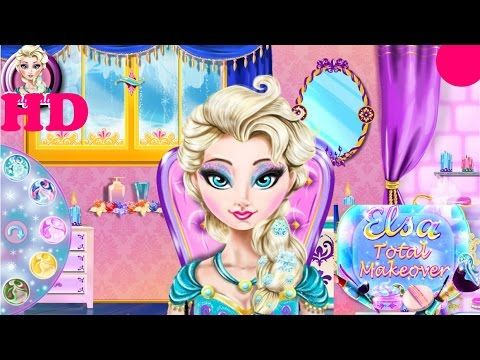 ♥  Disney Frozen Games Online Elsa Games Elsa Frozen Makeover ♥