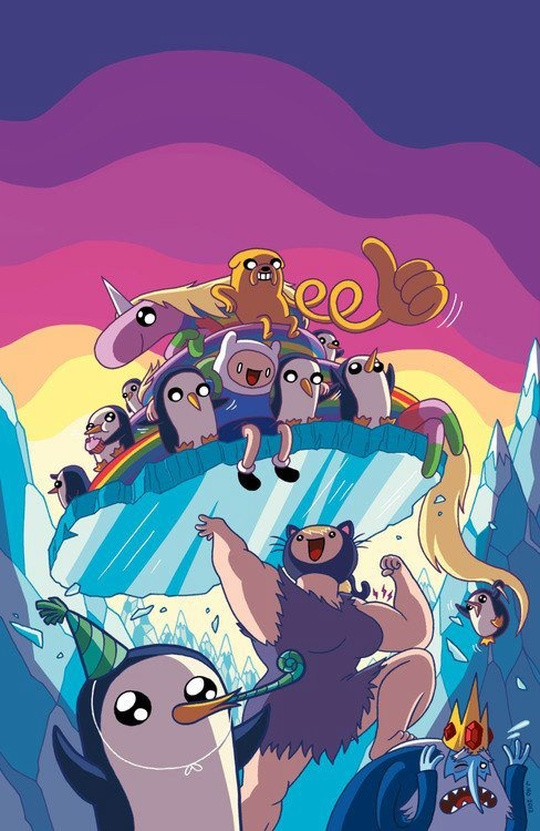 what an adorable adventure time art :3