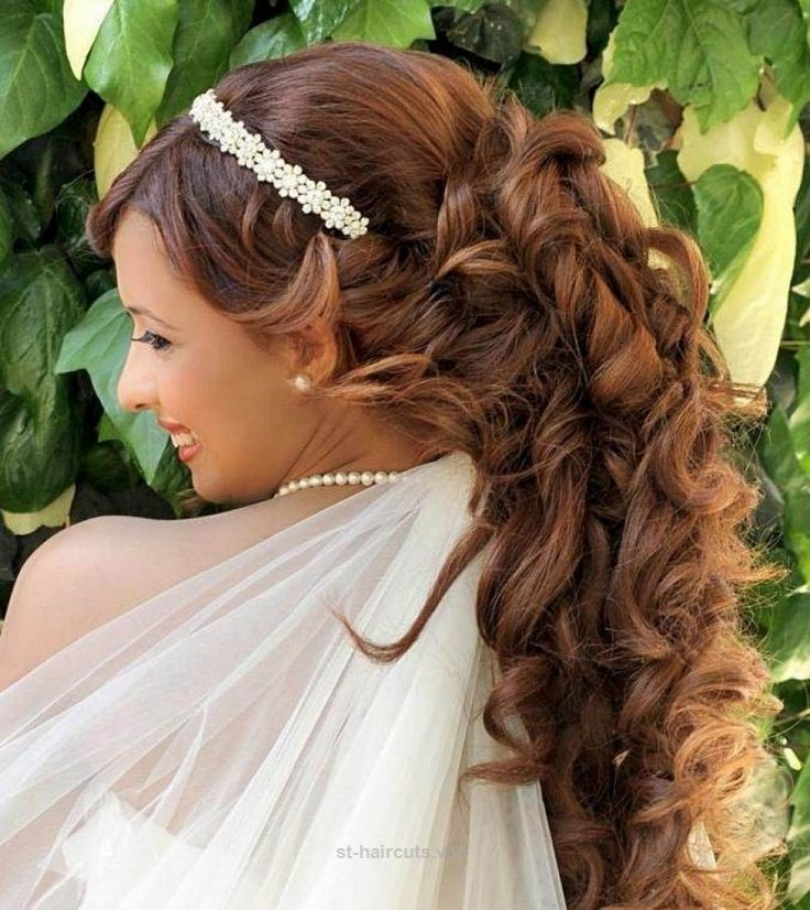 Splendid Wedding Hairstyles For Long Hair Half Up With Tiara  The post  Wedding Hairstyles For Long Hair Half Up With Tiara…  appeared first on  ST Haircuts .