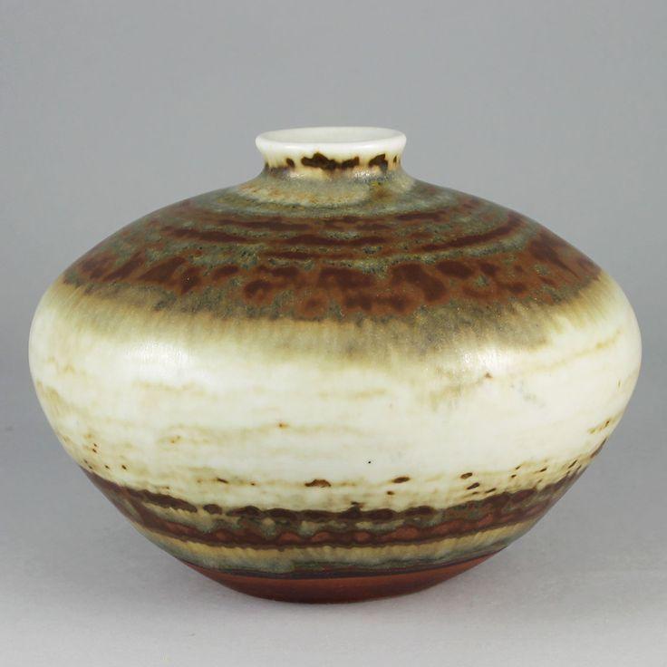 John Andersson (1950s) Unique Discus Vase
