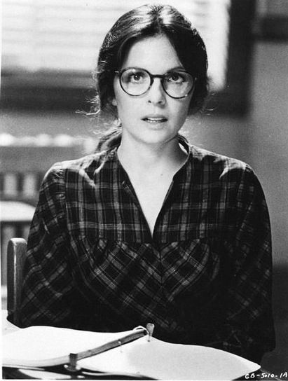young Diane Keaton.