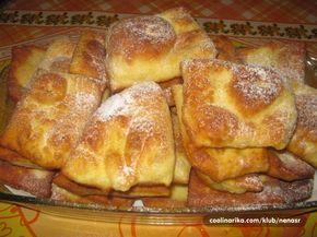 Gledala sam Rudolfovu pekaru i jako mi se svideli njegovi ustipci pa sam probala i odlicni su.Mekani, pa jos odgore pekmez, tope se ...