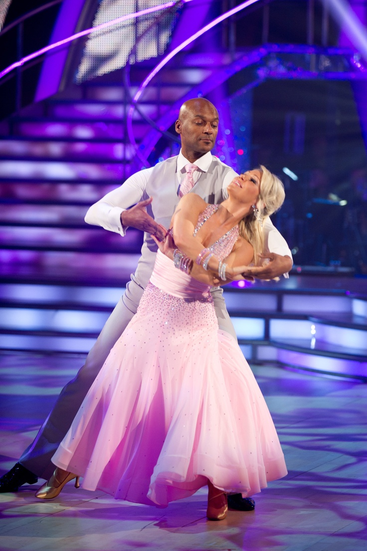 Colin Salmon and Kristina Rihanoff - Strictly Come Dancing 2012 - Week 2