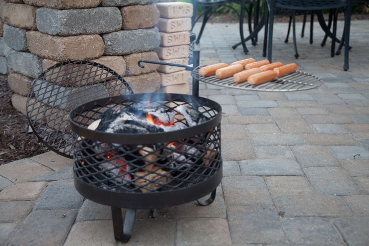 Browning Cowboy Fire Pit Grill | Cowboy Fire Pits Grill ...