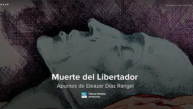 Conozca en este especial aspectos interesantes de la muerte del Padre de la Patria como los que rodearon su muerte, su traslado a Caracas y lo que dijeron los medios de la época
