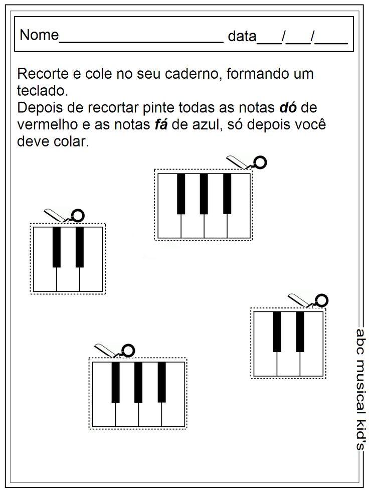 ATIVIDADES DE EDUCAÇÃO INFANTIL E MUSICALIZAÇÃO INFANTIL: Atividades de musicalização 2014