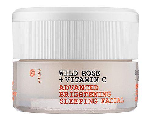 Korres Wild Rose + Vitamin C Brightening Sleeping Facial